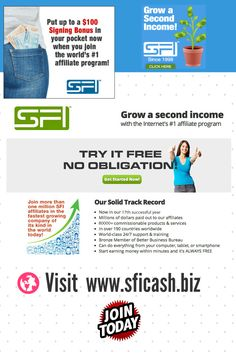 Make MONEY Working @ Home.No gimmicks, no pie in the sky, no bull. Proven, 19-year track record.Visit www.SFIcash.biz