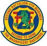 2nd Battalion 4th Marines - Vietnam era insigna