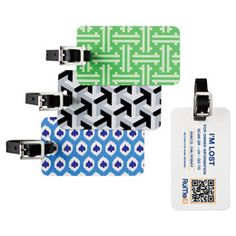RuMeID™ QR Luggage Tag: This seems super practical!!! Who wants their address and other info out there on a luggage tag?...