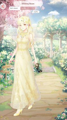 Anime Outfits, Girl Outfits, Dress Up Diary, Muslim Wedding Dresses, Anime Dress, Anime Princess, Up Game, Cartoon Network, Anime Girls