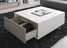 Isola Coffee Table With Storage