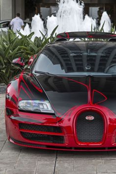 You will ❤ MACHINE Shop Café... ❤ Best of Bugatti @ MACHINE ❤ (Bugatti ƎB Veyron Grand Sport L'Or Rouge Graphics Supercar)