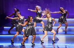 Finding fame: The actress is best known for her role as Mercedes on the hit musical show Glee
