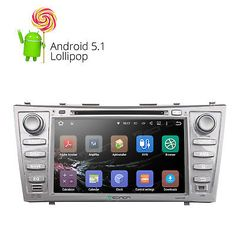 """﹩298.96. Quad-Core Android 8""""HD Car DVD For Toyota Camry Aurion BT GPS Player Navigator A   Screen Size - 8"""" High Definition Digital Capacitive Touch Screen, Operation System - Andriod Lollipop 5.1.1, Resolution - 1024*600 WVGA, Mutual Control - Betweend head unit and your smart phone, Steering Wheel Control - Support, WIFI/3G - Support(3G need to buy dongle extra), CPU - RK3188 1.6GHz Cortex A9 Quad-Core, Bluetooth - Support hands free,MP3 player,Phonebook,OBD2, DAB+ Input - Support(Need to…"""