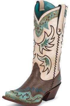 Tony Lama Women's Cassidy Cowgirl Boots #wedding #bridesmaid #prom