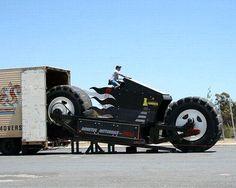 Riesen-Motorrad