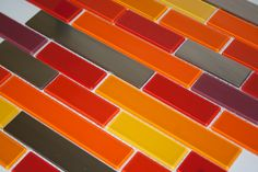 Man does this #tile #design have me feelin hot, hot, hot!   #red #interiordesign #interior4all #interiorstyling #interior123 #interiordesigner #interiordecor #interiordecorating #interiorinspo #architecture #architect #tiles #remodel #renovation #home #homedecor #homedesign #homeideas #homeinspo #homeinterior #decor #decorideas #designinterior #designer #designinspiration #designideas #backsplash #designinspo