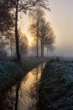 Foggy sunrise 2 by Patrick Wilner via 500px. - via: tect0nic: - Imgend