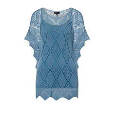 Emreco Embroidered Jumper Blue