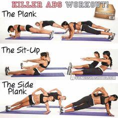 exercises abs - Recherche Google
