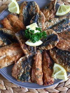 Sardines à la marocaine Seafood, Steak, Pork, Meals, Chicken, Cooking, Beignets, Journey, Moroccan Kitchen