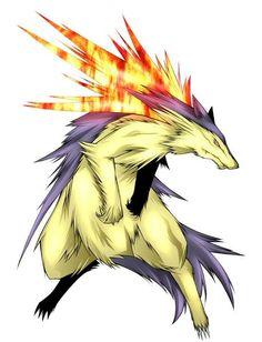 Typhlosion #Pokemon