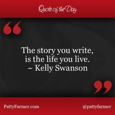 """""""The story you write, is the life you live."""" ~ @motivationspkr"""