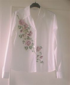 Hand painted  shirt - DecoArt So Soft fabric Paint