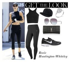 """""""Rosie Huntington-Whiteley Body by Simone July.29.2016"""" by valenlss ❤ liked on Polyvore featuring NIKE, Neil Lane and Yves Saint Laurent"""