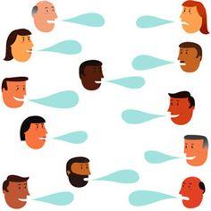 People communicate, people share.
