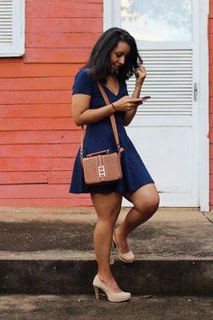 Look do dia: Vestido F21 http://diadebrilho.com/look-do-dia-azul-para-festejar/