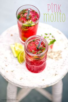 Cocktail Friday: Pink Mojito