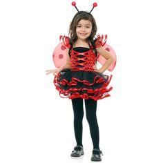 Lady Bug Cutie Toddler Costume, 804008