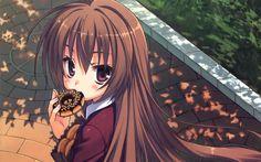 Download wallpapers Taiga Aisaka, manga, protagonist, Toradora