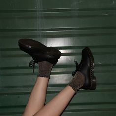 Docs and Socks: The 1461 shoe, shared by frukglen.