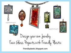 Friendly Plastic Dichroic Glass Effects