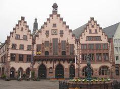 Der Römer in Frankfurt, Germany