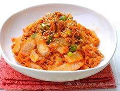 김치볶음~참치김치볶음, 밑반찬만들기,김치요리, 참치요리