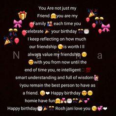 Crazy Birthday Wishes, Happy Birthday Best Friend Quotes, Happy Birthday Quotes For Friends, Birthday Blessings, Happy Birthday Me, Birthday Qoutes, Happy Birthday Template, Poetry Happy, Birthday Wallpaper