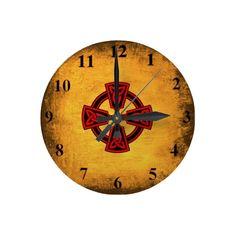 Antique Look Celtic Cross Wall Clock #gifts #irish