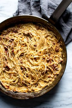 CREAMY GOAT CHEESE AND SUN-DRIED TOMATO PASTA WITH ROASTED GARLIC AND ...