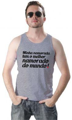 Camiseta Minha namorada - Camisetas Personalizadas,Engraçadas | Camisetas Era Digital