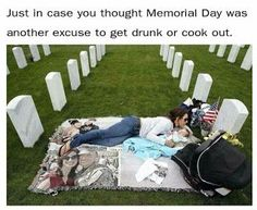 Please remember why we have #MemorialDay.