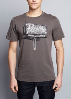 Featured here are Brooklyn Industries tees. All these t shirts  have great graphic designs too.