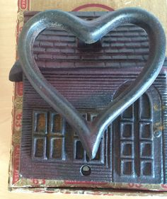 Hey, I found this really awesome Etsy listing at https://www.etsy.com/listing/231323288/home-is-were-the-heart-is-door-knocker