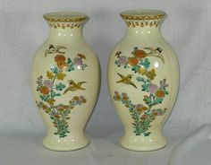 Antiques Atlas - Pair Signed 19th Century Japanese Satsuma Vases