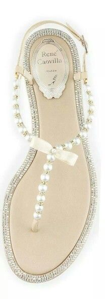Caovilla....Lara these would be perfect for your wedding.  Steven and I are going barefoot.