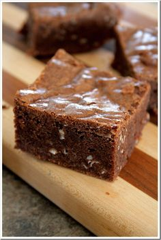 Dark Chocolate and Nutella Coconut Brownies ~ Doughmesstic