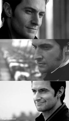 See those two pictures there?  Yes, the top and bottom ones!  I wish he had done that more in North and South.