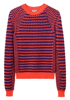 Kenzo / Striped Knit Pullover