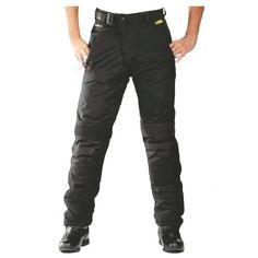 Roleff Racewear Motorradhose Textil/Taslan, Schwarz , XL