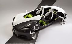 no country 4 old styles: summer semester 2014 / 6th term project / Renault Spyder Concept 2020