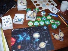 Downloadbaar spelmateriaal Sistema Solar, Space Theme, Space Exploration, Out Of This World, Outer Space, Solar System, Kids Playing, Playroom, Education