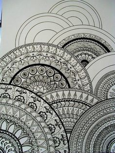 All sizes | my drawings inspired zentangle®.. this would be a fun project :)