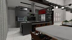 #pranchetaHAUS  Cozinha para #acasaFIT, cinzas, preto e um clima contemporâneo total nesta residencia. Destaque para a quantidade e eletros contemplados no projeto. Adega, cervejeira, forno e micro, lava-louças e churrasqueira elétrica.    #Haus #architecture #design #decoração #interiordesign #interiores #instadecor #homedecor #designdeinteriores #arquitectura #archilovers #projeto #decoration #interior #instadesign #homedesign #instahome #architect #lifestyle #interiorstyling…