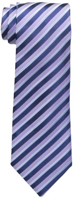 Countess Mara Men's Acerra Stripe Tie, Blue, One Size at Amazon Men's Clothing store:
