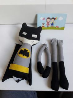 Mini batman... #atelierbrincarcomefeito