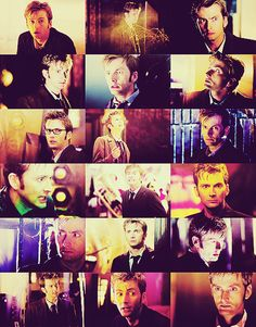 David Tennant as Ten...the many faces of my favorite Dr.<<< This is not rite. It's not dr. It's Doctor!!