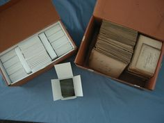 Conservation Tip No. 4: A Method of Rehousing Glass Plate Negatives