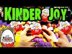 kinder surprise eggs unboxing toys rio 2 kinder joy egg surprise toy - YouTube